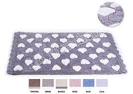 tappeti stile shabby tappeto bagno multi cuoricini shabby chic rettangolare misura