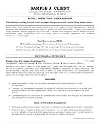 retail sales manager resume experience retail manager resume exles retail manager resumes stylish