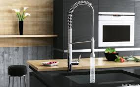 mitigeur de cuisine mitigeur avec douchette robinet de cuisine s équiper maison