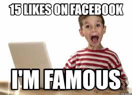 Facebook Likes Meme - facebook likes i m famous woof blitzer s dog news pinterest