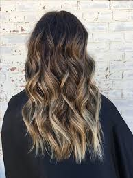 dark brown hair with blond highlights brown balayage for brunettes hair pinterest brown balayage