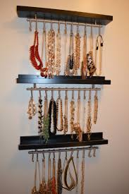 Creative Way To Hang Scarves by 25 Unique Necklace Organization Ideas On Pinterest Necklace