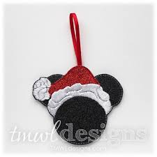 Mr Christmas Ornament - mr christmas mouse ornament u2013 tmwl designs
