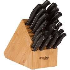 on counter bamboo knife block u2013 shenzhen knives