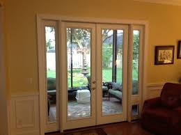 interior french glass doors french door with sidelites and pet door this was a sliding glass