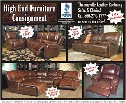 washington chocolate reclining sofa thomasville leather reclining sofas chairs vancouver washington