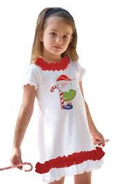white and red ruffle santa girls christmas dress