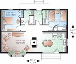 floor plans for cottages cottage style house plan 2 beds 1 00 baths 874 sq ft plan 23 754