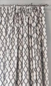Geometric Curtain Fabric Uk White U0026 Grey Geometric Curtains Beautiful Grey And White