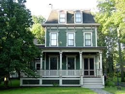 victorian post civil war historic house colors mansard second