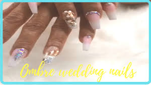 wedding nails designs 2017 french ombre nails design for wedding