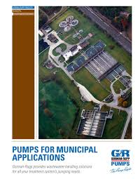 gorman rupp pumps for sewage wastewater by tencarva machinery