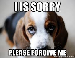 Puppy Eyes Meme - i is sorry please forgive me sad puppy dog eyes meme generator