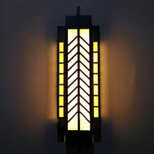 Outdoor Commercial Lights H100cm Vertical Commercial Lighting Gate Pillar Lights Yard Garden