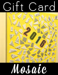 clever new years cards gift card mosaic