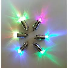 multicolor submersible led lights for special