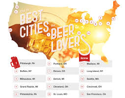 pittsburgh ranked as the best u s city for beer lovers