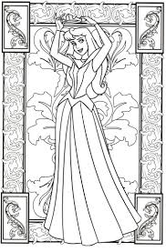 50 besten coloring pages sleeping beauty bilder auf pinterest