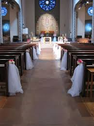 Wedding Pew Decorations 50 Best Wedding Pew Decorations And Tutorials Images On Pinterest