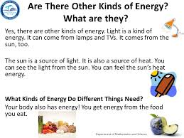 what type of energy is light grade 2 big idea 10 forms of energy energy sources ppt video