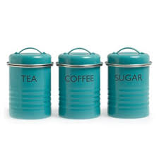 vintage canisters for kitchen vintage kitchen summer house enamel tea coffee sugar storage