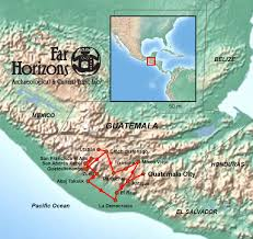 Mayan Ruins Mexico Map by Guatemala Tour Enduring Maya Far Horizons