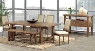 Solid Oak Dining Room Sets Bench Marvellous Solid Oak Dining Setindermere Rustic Extending