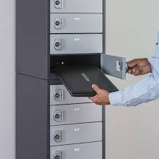 charging laptop lockers for military libraries universities