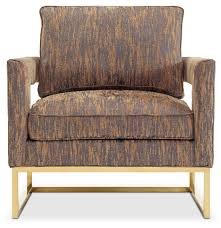 Gold Accent Chair Levana Accent Chair Gold American Signature Furniture