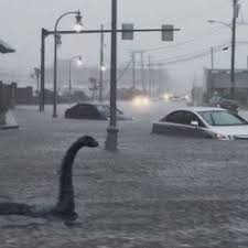 Loch Ness Monster Meme - image of loch ness monster in portland making waves online