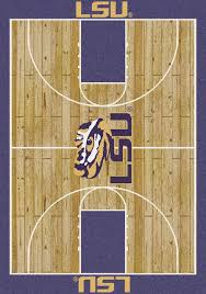 milliken area rugs ncaa college home court rugs 01152 lsu tigers