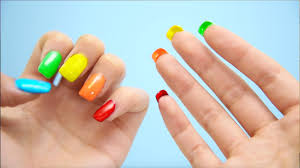 diy double sided nails youtube