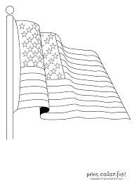 Printable Flag American Flag Coloring Page Print Color Fun U2013 Pilular U2013 Coloring