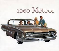 Old Ford Truck Brochures - 1960 mercury meteor canadian mercury looks similar to the 1960