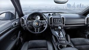 white porsche red interior new porsche cayenne platinum edition