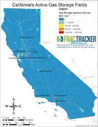 Gas Map California In State Of Emergency From Natural Gas Leak