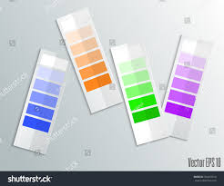 color palette gray color palette isolated on gray background stock vector 394272010
