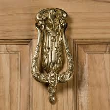 Brass Door Handles Ram U0027s Head Brass Door Knocker Hardware