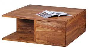Couchtisch Finebuy Couchtisch Massiv Holz Sheesham 88 Cm Breit Wohnzimmer