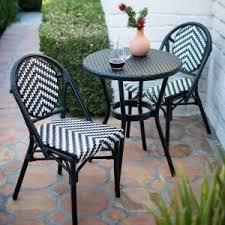 Wicker Bistro Chairs Resin Wicker Bistro Sets Hayneedle