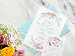 print wedding invitations 13 floral print wedding invitations the overwhelmed