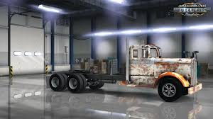 old kw trucks old rusty skin for kenworth 521 v1 0 v1 5 x american truck
