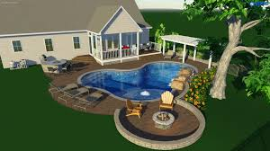 raleigh landscape design 3d pool u0026 spa services choice p u0026s
