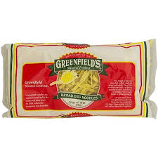 kosher noodles greenfeilds broad egg noodles lokshen 10 oz westernkosher