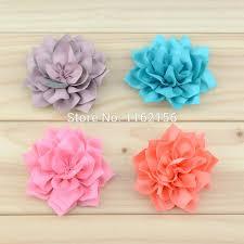 how to make baby headbands with flowers aliexpress buy 2015 new diy handmade fabric flowers