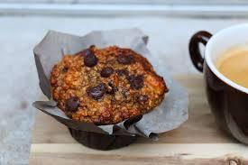 donuts hervé cuisine muffins au chocolat banane et noisettes recette healthy via