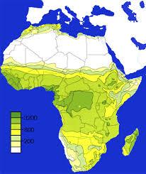 africa map elevation mbirmingham map isohyet