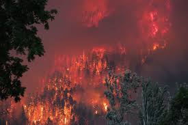 Wildfire Map In Oregon 2017 by Photographer Explains The Viral Eagle Creek Fire Golf Photo