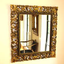 Ornate Mirrors Antique Mirror Wooden Frame U2013 Harpsounds Co