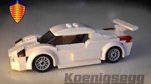 Instructions To Build Koenigsegg Cc Gt Minifig Scale Supercar